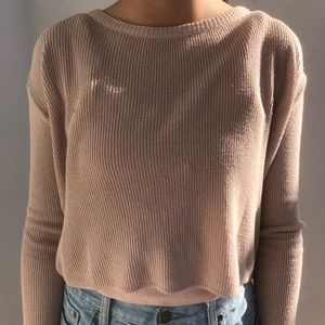 brandy melville sweater!!